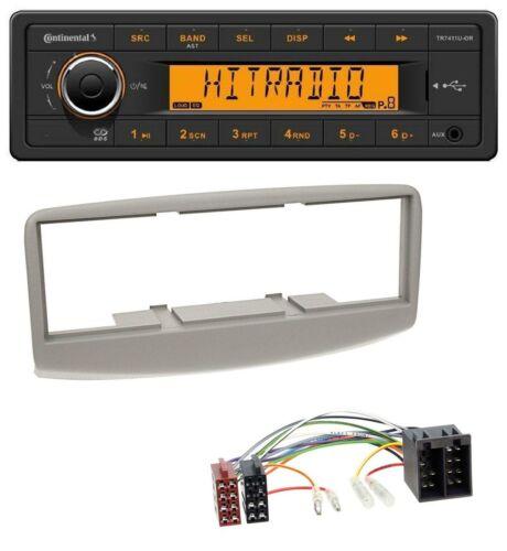 1999-2000 Continental 1DIN USB AUX MP3 Autoradio für Fiat Multipla