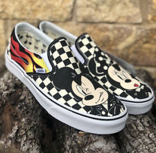 ebfcc6833a Vans X Disney 90th Anniversary Classic Slip On Mickey Minnie Mens Size 12  -New! Vans X Disney 90th Anniversary Classic Slip On Mickey Minnie Mens  Size 12