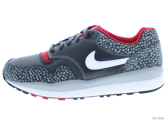Comfortable and good-looking NIKE AIR SAFARI LE 371740-016 mtt slvr/white-anthrct-gym rd Comfortable