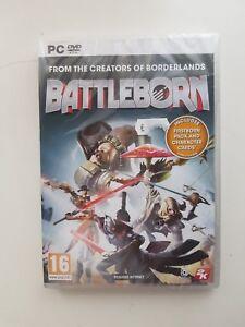 Battleborn-PC-2016-DVD-Brand-New-Factory-Sealed