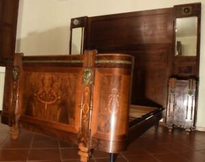 Camere Da Letto Antiche.Antica Camera Da Letto Matrimoniale Con Intarsi Solo Per