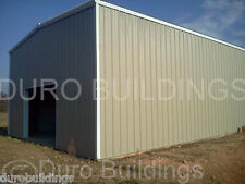 DuroBEAM Steel 50x40x12 Metal Building Garage Workshop Shed Structure Kit DiRECT