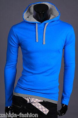 ZAHIDA Herren Damen Pullover Pulli Kapuzen-Jacke Sweatshirt Hoodie T-Shirt NEU