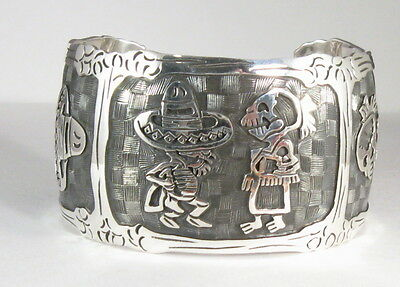 925 sterling silver link bracelet with Day of the Dead motif by Maria Belen