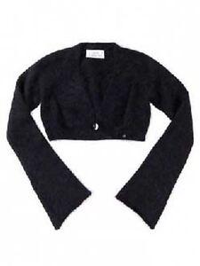 PATRIZIA-PEPE-ANGORA-BOLERO-NEUF-115-Mode-Designer-pour-les-filles-veste-gilet