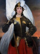 Joan of Arc French Heroine France Maid of Orleans 7x5 Inch Print