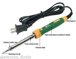 40W 110V Heat Pencil Tip Welding Solder Soldering Iron Kit Electronic Tool b813