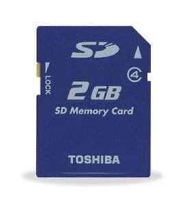 Toshiba-SD-Memory-Card-Blue-2GB-PSP-Digital-Camera-E41