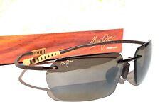 NEW Maui Jim POLARIZED Rimless MALA Rootbeer Copper Hcl Bronze  Lens Sunglasses