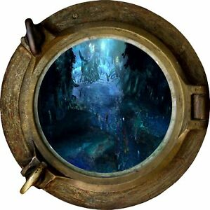 Huge-3D-Porthole-Fantasy-Under-Sea-View-Wall-Stickers-Film-Decal-Wallpaper-487