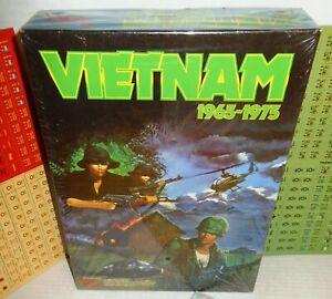 Boxed-BOARD-WAR-GAME-Victory-Games-VIETNAM-1965-1975-op-1984-UNP-amp-Complete