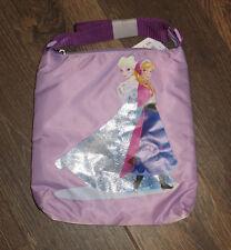 NEW Disney Parks Frozen Sisters Anna & Elsa Zippered Purse Tote Bag Crossbody