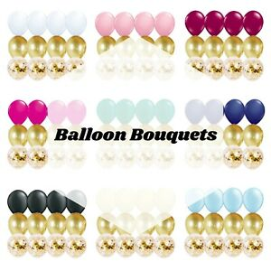 12-PC-Balloon-Bouquet-Party-Kit-with-Confetti-Baby-Birthday-Wedding-Balloon
