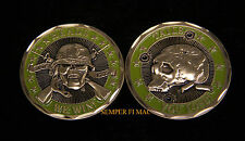 """""""HEADS WE WIN TAILS YOU LOSE"""" CHALLENGE COIN US MILITARY GIFT USMC USA USN USAF"""
