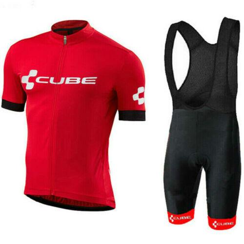 CUBE Fahrradbekleidung Rennrad Team Fahrrad Trikot Lätzchen Bekleidung Short Set
