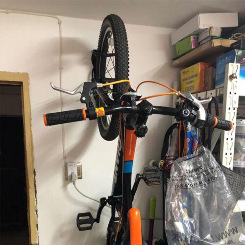 4Stk.Stahl Fahrrad Wandhalter Fahrradhalter Wandhalterung Bike Haken Halter Set