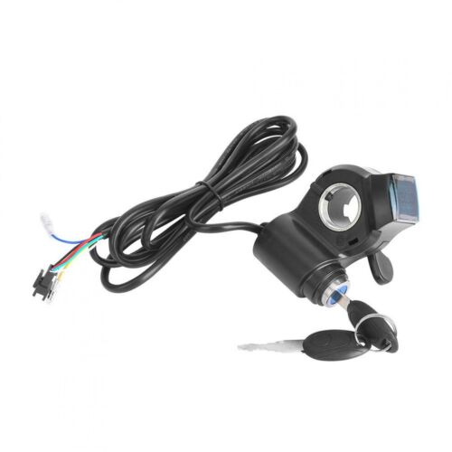 Details about  /1 Pair Electric Bicycle Thumb Throttle Throttle Grips For Electric Bicycle