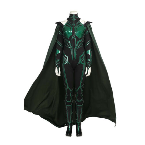 Thor Ragnarok Hela Cosplay Costume Full Set Outfit Custom Made For Girl//Lady