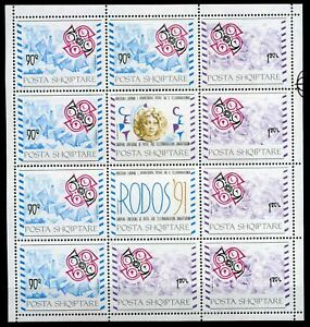 Albanien-Kleinbogen-MiNr-2495-96-postfrisch-MNH-Cept-P1983