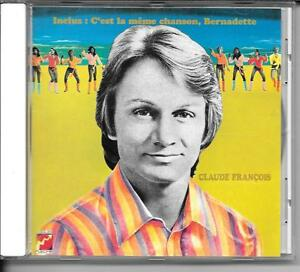 CD-COMPIL-12-TITRES-CLAUDE-FRANCOIS-BERNADETTE-C-039-EST-LA-MEME-CHANSON