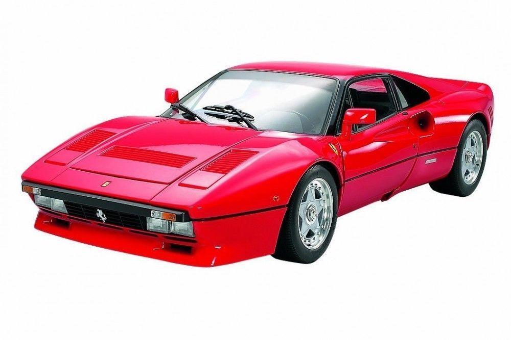 1 12 Tamiya Vormontiertes Modelo Estático - Ferrari 288 Gto Rojo