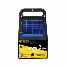 Zareba Esp2mz Electric Fence Charger 2 Mile Solar Low Impedance Industrial New
