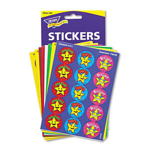 Trend Stinky Stickers Fun & Fancy Jumbo Pack Stickers 432 Round Assorted