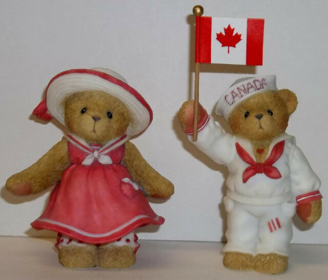 Cherished Teddies Joel & Jana Figurines NEW # 107070C 107068C Canadian Exclusive