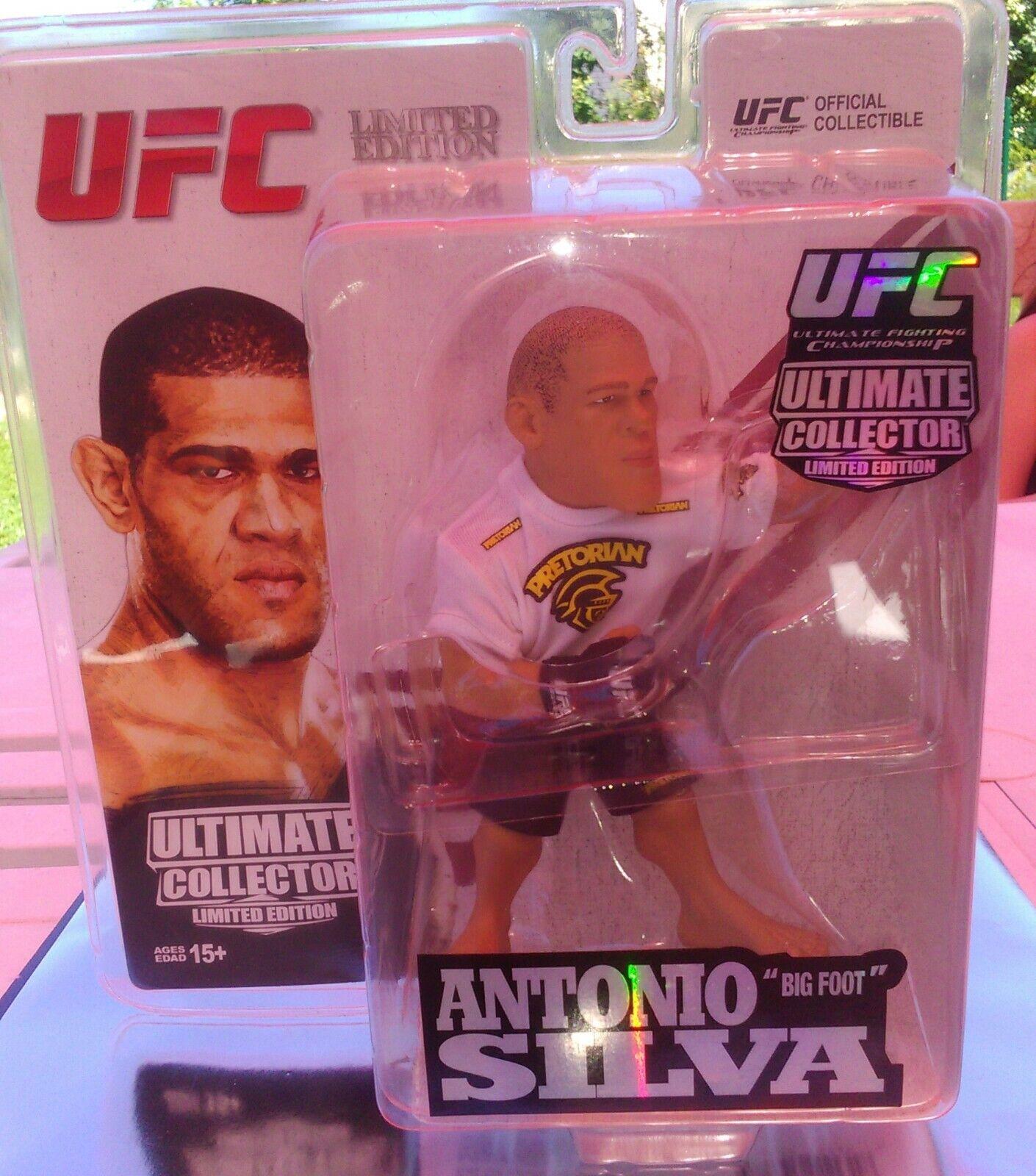 Figurine UFC greefoot Silva edizione limité Round 5 cifra collector rare nuovo