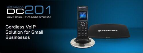Sangoma DECT VOIP PHONE DC201N /& D10M BRAND NEW