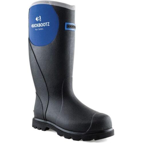 Buckler BBZ5666 Ladies Non-Safety Waterproof Wellington Boots Navy Sizes 4-8