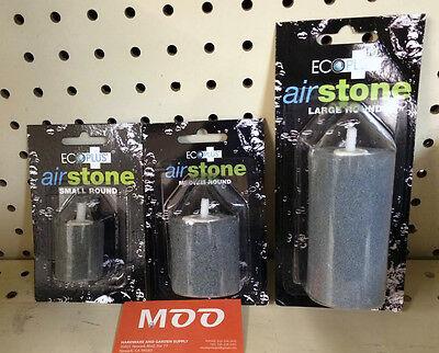 Ecoplus Air Stone ROUND Small/Medium/Large (Diffuser, AirStone, Aquarium)