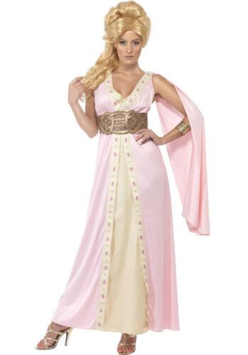 SPARTACUS Ilizia Dea Greca Romana Costume Taglia 8-10 12-14 /&