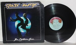 THE-BOTTOM-LINE-Crazy-Dancin-039-LP-VG-Plays-Well-1976-Greedy-Records-G1001