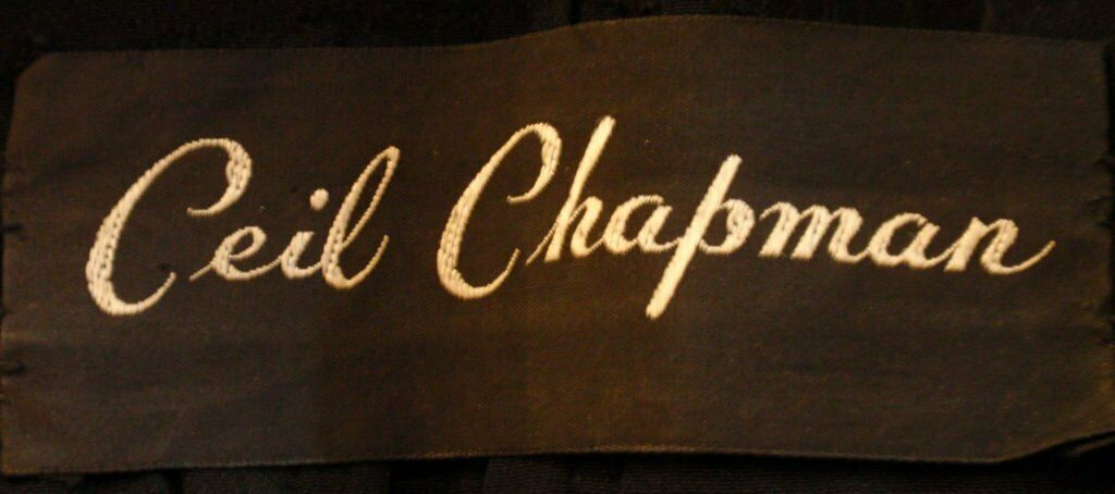 CEIL CHAPMAN 1960s Vintage 2 pc Black Beaded Gown - image 10