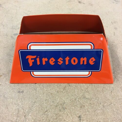 1 Used  Car Tire Stand with Vintage Firestone Logo