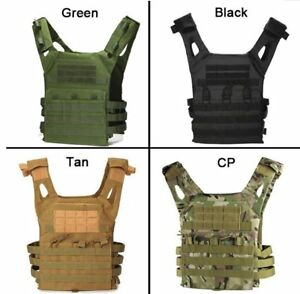 JPC-Tactical-Military-Vest-EVA-Armor-Plate-Carrier-Lightweight-Training-Protect