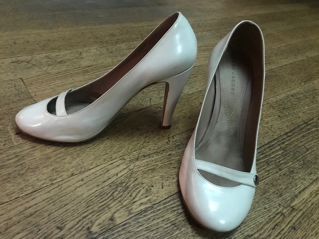 Marc Jacobs bianca Patent Leather Pumps size 41