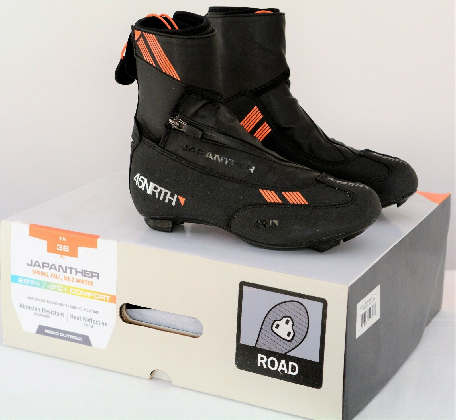 NEW 45NRTH Japanther Cycling Boot, Road, Winter Cold Weather