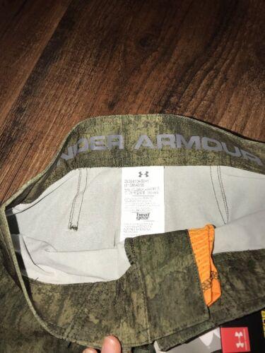 Under Armour Storm Swim Board Shorts Boys Waist Size 25 28 29 30 Camouflage New