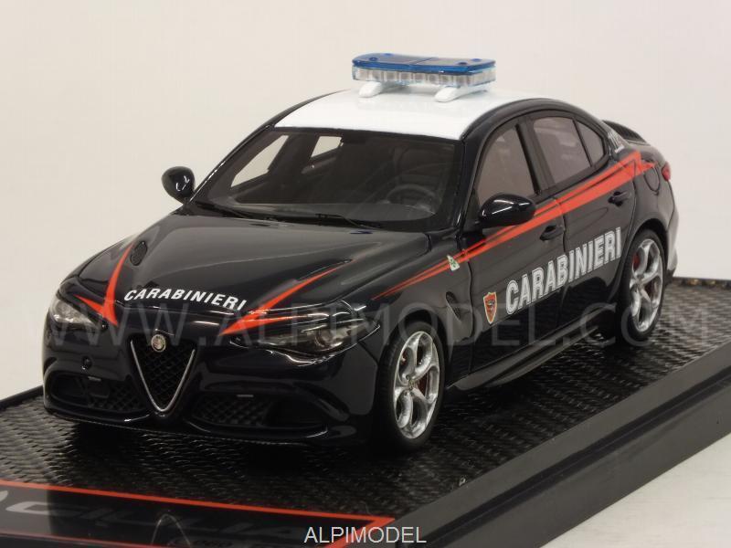 Alfa Romeo Giulia Quadrifoglio 2015 CARABINIERI 1:43 BBR BBRC176CAR