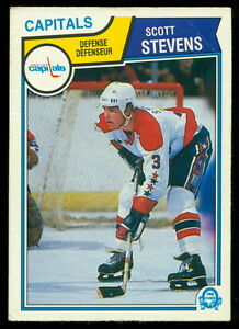 Details about 1983 84 OPC O PEE CHEE 376 SCOTT STEVENS EX COND RC New  Jersey Devils CAPITALS e31dc9374
