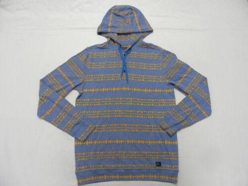 Quiksilver Rizzo Box Hoodie Pullover Long Sleeve Sweatshirt Sz Medium Surf Skate