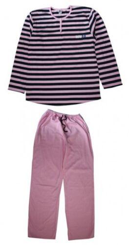 HSV Mädchen Schlafanzug rosa//schwarz
