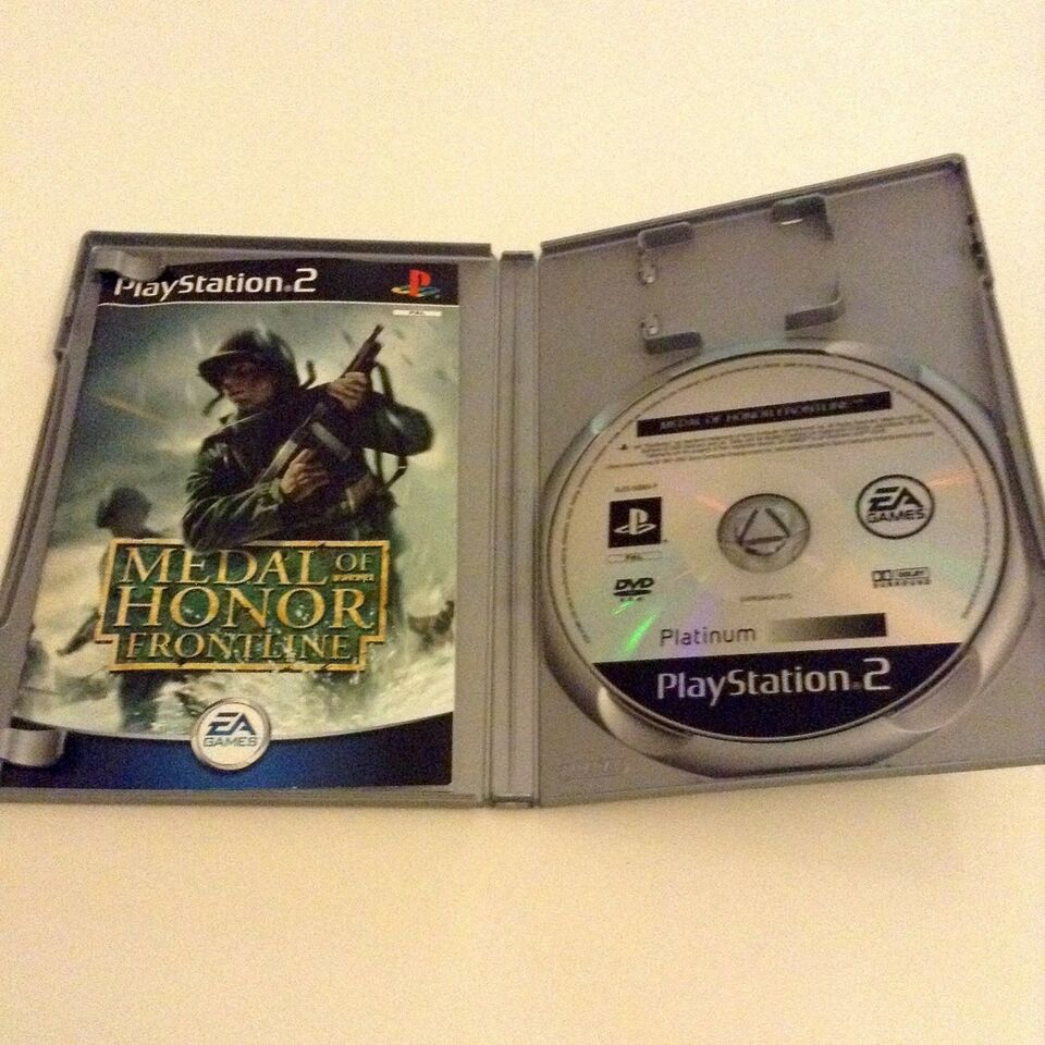 Medal Of Honor Frontline, PS2, action