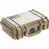 Pelican Carrying Case Small W/foam (tan)