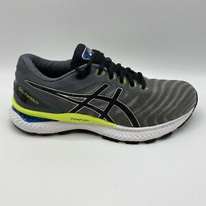 ASICS-Men-039-s-GEL-Nimbus-22-Piedmont-Grey-Black-Running-Shoes-Size-8-5-Medium