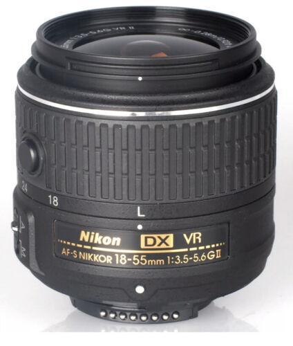 Nikon AF-S DX NIKKOR 18-55 mm f//3.5-5.6G lente VR II