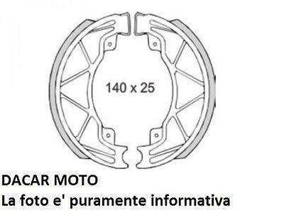 Geschickt Bremsbacken Hinten Piaggio 200 Liberty Rst 2004 Rms 225120420 Bremsen