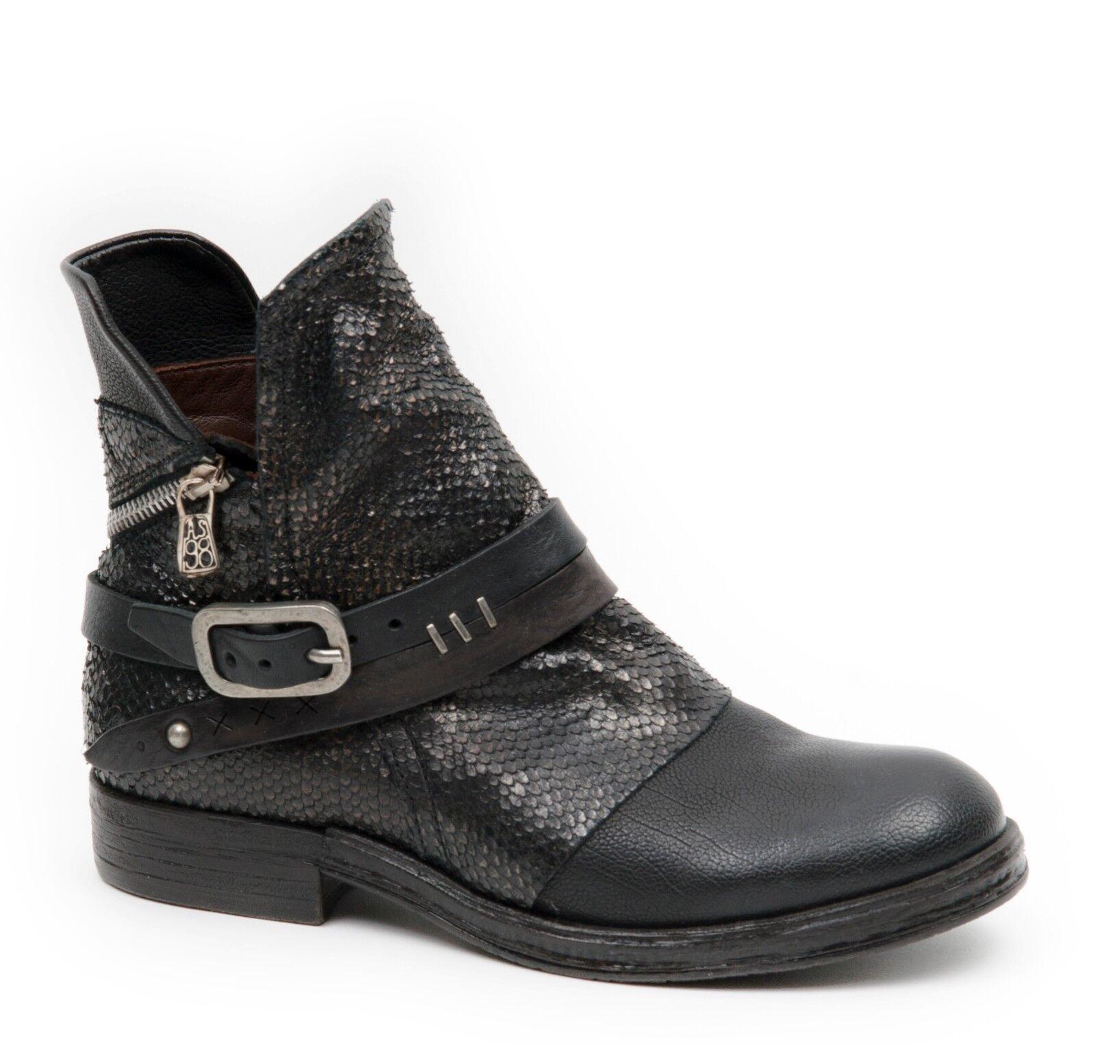 Zapatos de mujer baratos zapatos de mujer Grandes zapatos con descuento A.S.98 AIRSTEP Stiefeletten AS.98 Stiefel AS98 Boots 207202 NERO schwarz NEU